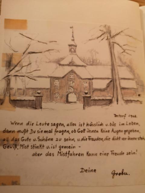 Zeichnung: Testorf
