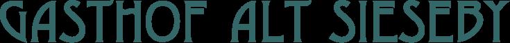 Logo Gasthof Alt Sieseby