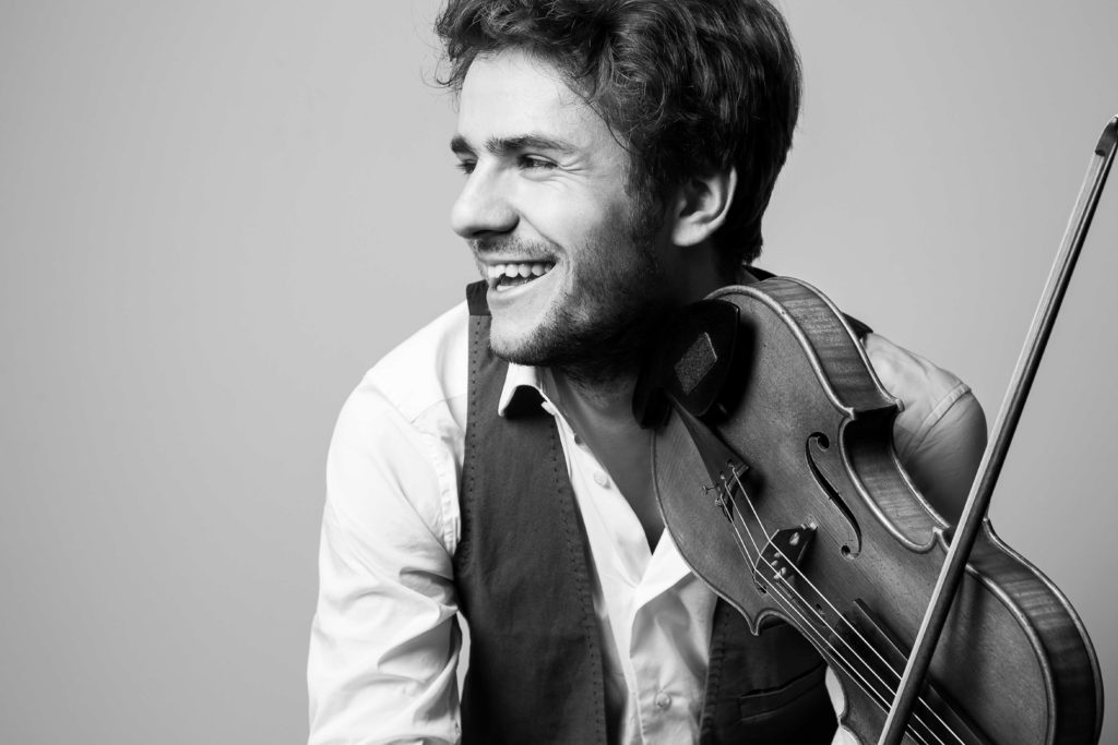 Portrait Matthias Well - Violine