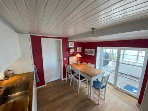 Kapitänshaus des Gasthofs Alt Sieseby - Essecke