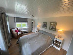 Kapitänshaus des Gasthofs Alt Sieseby - Schlafzimmer
